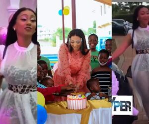 Video: Hajia4real gifted a Mansion and Brand New Car on Her Birthday
